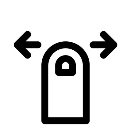 Swipe right or left