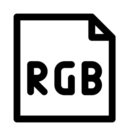 RGB color file