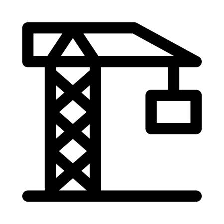 Construction tower crane Banque d'images - 125445478