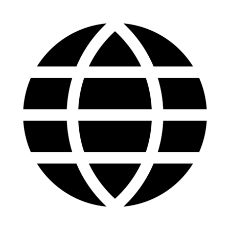 Grid earth globe 向量圖像