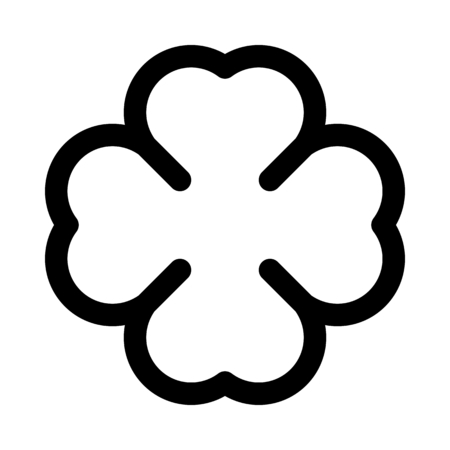 Natural clover leaf Illustration
