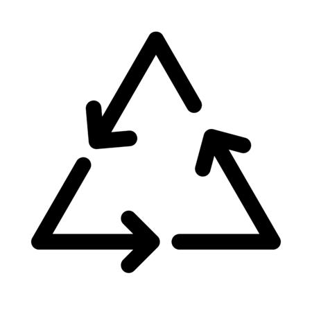 Recycle arrows symbol