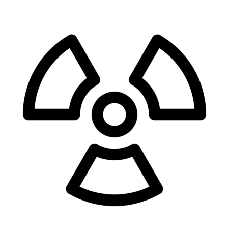 Nuclear radioactive radiation Imagens - 116460783