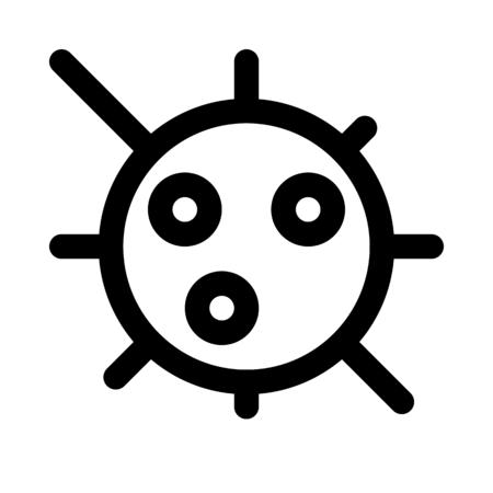 Infectious virus cells Banco de Imagens - 125446811
