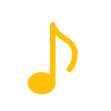 quaver music note 일러스트