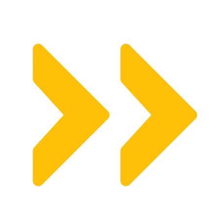 double next arrow