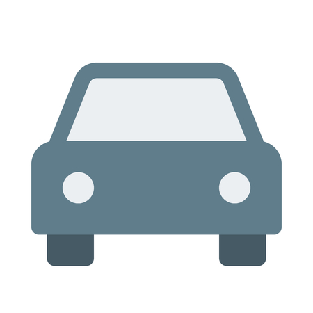 car icon on isolated background