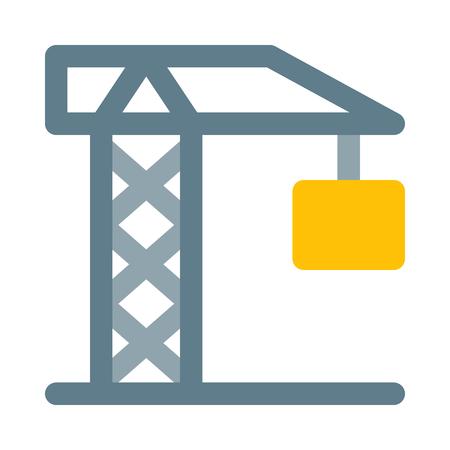 Construction tower crane Banque d'images - 125365878