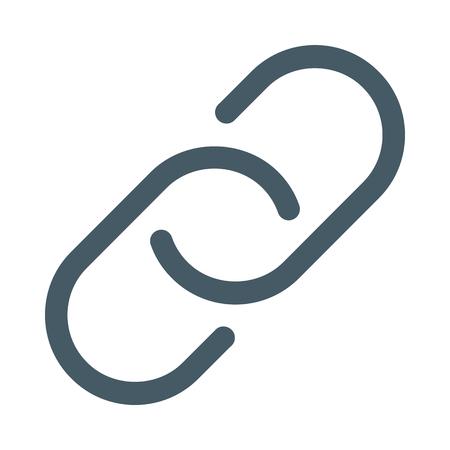 Web link symbol Illustration