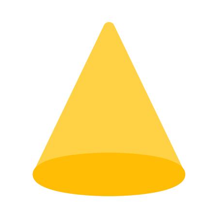 cone geometric shape Ilustrace