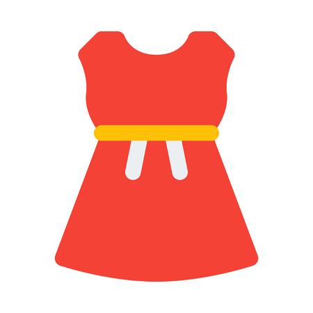 strapless dress Illustration