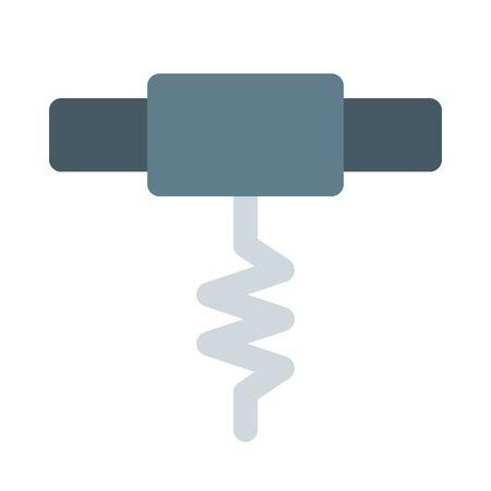 corkscrew  イラスト・ベクター素材