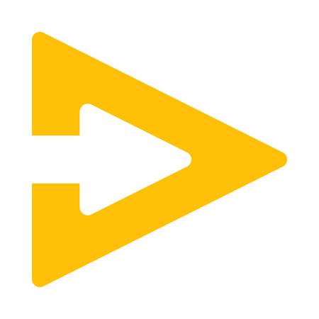 triangle arrow
