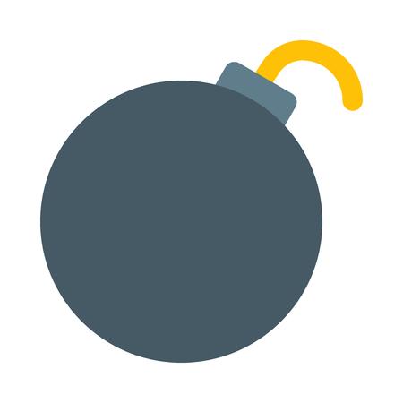bomb isolated on white background