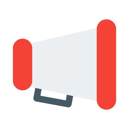 Handheld megaphone object Illustration