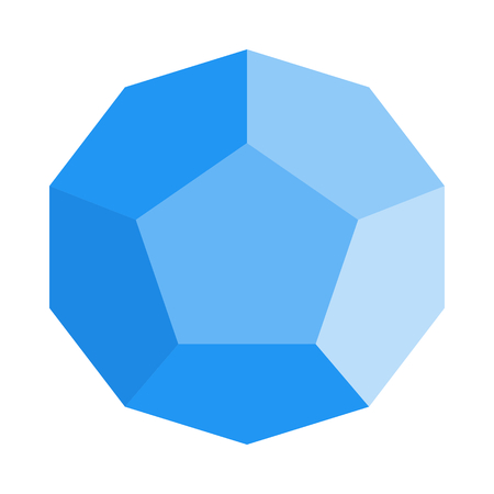 irregular pentagonal dodecahedron Çizim