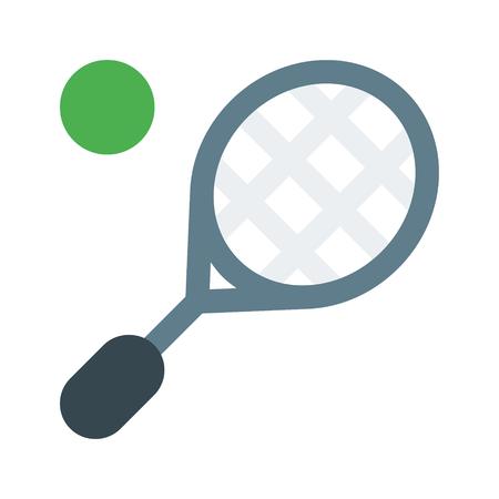 lawn tennis Ilustração