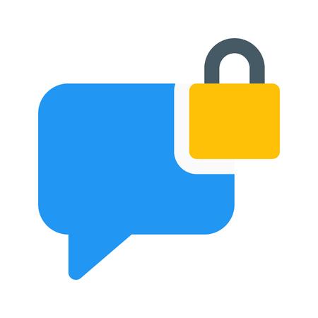 secure chat bubble