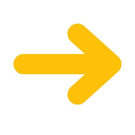 rounded head arrow Иллюстрация