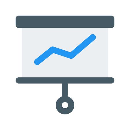 statistics presentation  イラスト・ベクター素材
