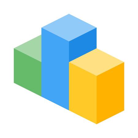 isometric box chart