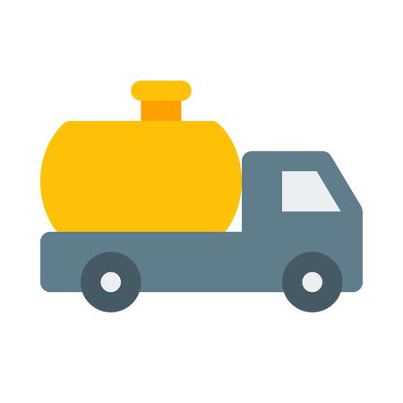 Gas tank truck