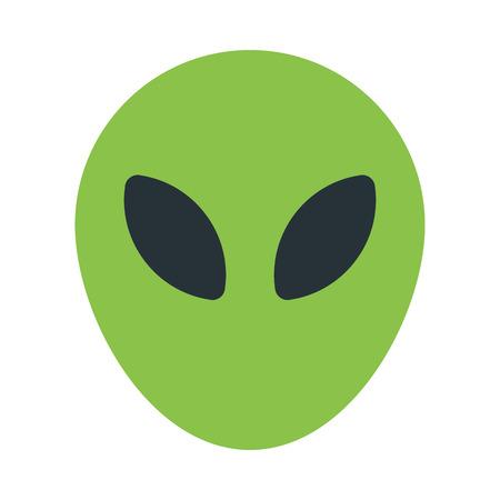 alien emoji 写真素材