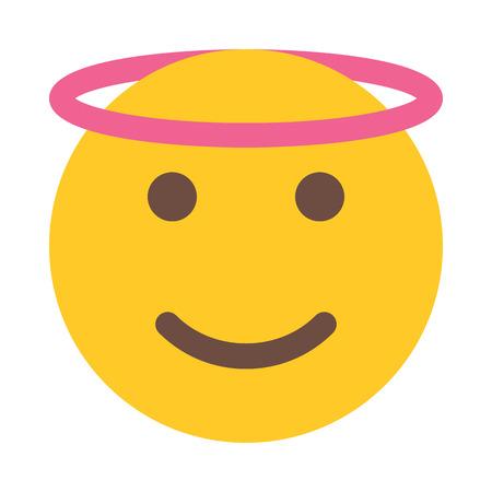 angel emoji 写真素材