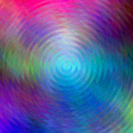 Circular waves on the surface of a liquid liquid