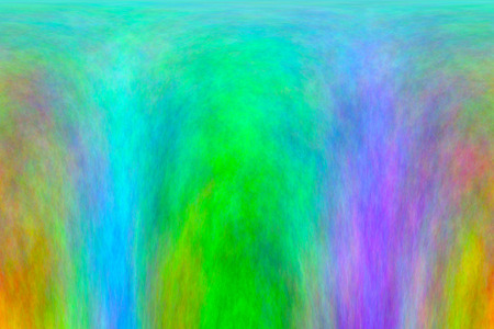 Waterfall or convection from felt watercolor Stock Photo