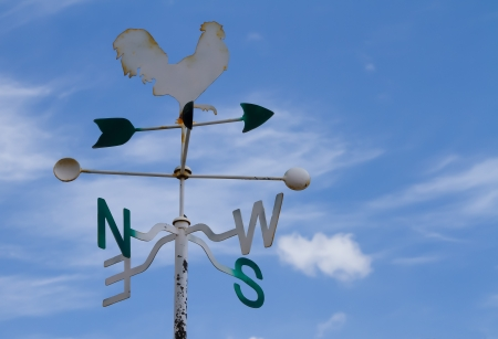 Weather Vane on Sky photo