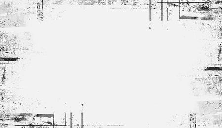 Vintage at the edges frame. Age border overlays, copyspace. Banco de Imagens
