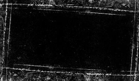 Texture de bordure vintage. Ancien effet de superpositions pour film, copyspace.