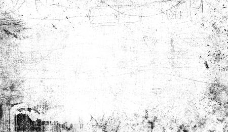 Cornice vintage ai bordi. Sovrapposizioni di texture del bordo dell'età, copyspace. Archivio Fotografico