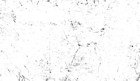 Grunge white scratch pattern. Monochrome particles abstract texture. Gray printing element