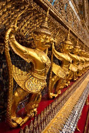 Golden Garuda in Grand Palace, Thailand  photo