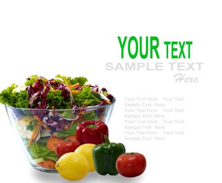 Vegetable, Salad Stock Photo - 13752107