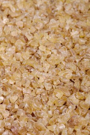 bulgur: bulgur wheat closeup