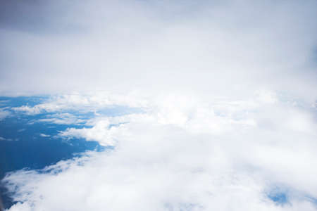 Clouds seen from the aeroplane
