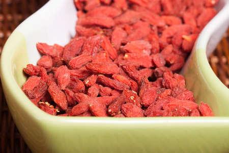 Closeup to Goji berries