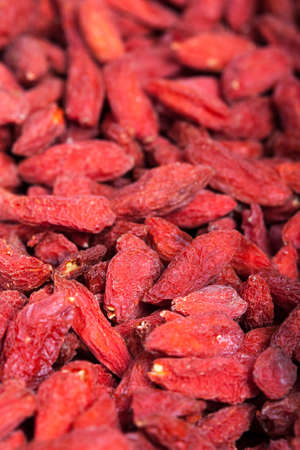 Closeup to Goji berries photo