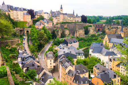 Luxembourg City Panorama photo