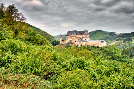 luxembourg: Vianden Castle in Luxembourg