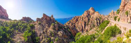 Calanche an der Westküste von Korsika