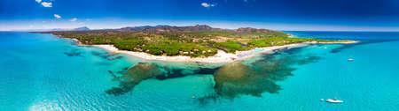 Cala Ginepro beach on Sardinia island, Italy, Europe. Stock Photo