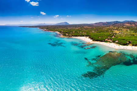 Cala Ginepro beach on Sardinia island, Italy, Europe.