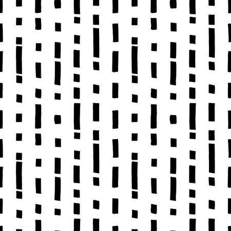 Short vertical lines hand drawn seamless pattern.
