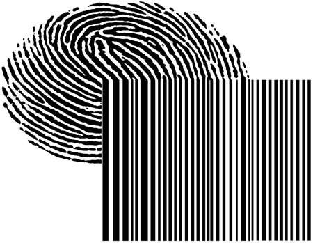 symbol for digital data Stock Photo - 10079304
