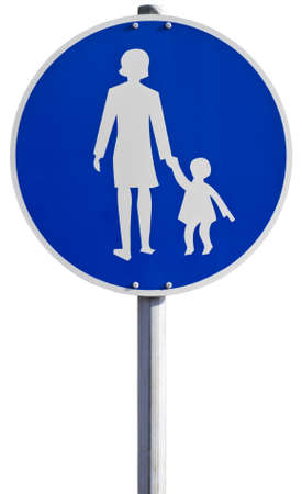 german sign for  sidewalk