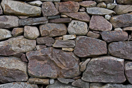 detail shot of stone wall. horizontal. photo